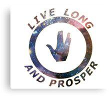 ~ live long and prosper ~ Metal Print