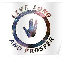 ~ live long and prosper ~ Poster