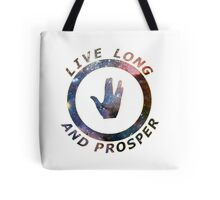 ~ live long and prosper ~ Tote Bag