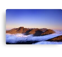 The Cuillin, morning Canvas Print