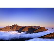 The Cuillin, morning Photographic Print
