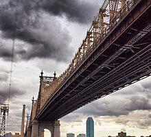 Queensboro bridge, NYC by Andrea Rapisarda