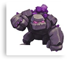 Giant Clash of Clans Art Canvas Print