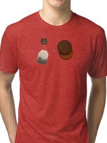 Tea & Biscuits Tri-blend T-Shirt