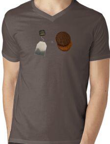 Tea & Biscuits Mens V-Neck T-Shirt