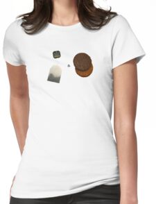 Tea & Biscuits Womens Fitted T-Shirt