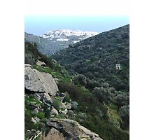 valley to ocean Photographic Print