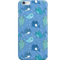 Narwhal Pattern iPhone Case/Skin