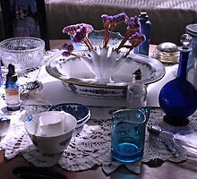 ....collectibles at home... by Lynne Prestebak