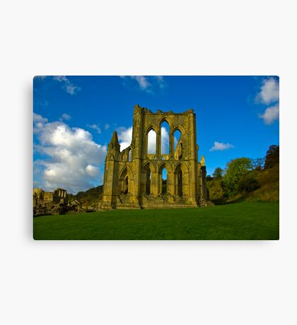 Rievaulx Abbey #3 Canvas Print