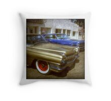 Cadillac Flashback Throw Pillow