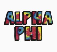 Tie Dye Alpha Phi by katiefarello