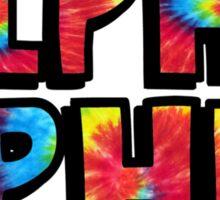 Tie Dye Alpha Phi Sticker