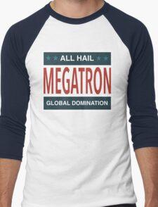 All Hail Megatron Men's Baseball ¾ T-Shirt
