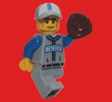 LEGO Baseball Fielder One Piece - Short Sleeve