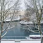 Winter on the Canal by JenniKate Wallace