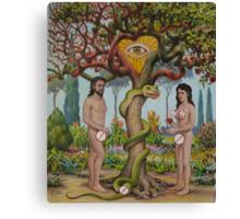 Adam & Eva in the USA Canvas Print