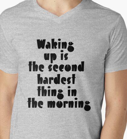 The second hardest Mens V-Neck T-Shirt