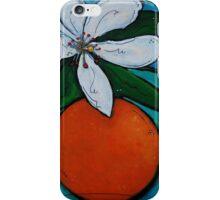 Orange Blossom iPhone Case/Skin