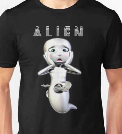 Ghost Alien Unisex T-Shirt