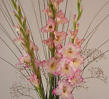 Formal Gladioli by JenniKate Wallace