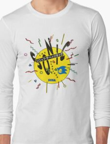 Sonic the Hedgehog - Japanese Box Art Long Sleeve T-Shirt