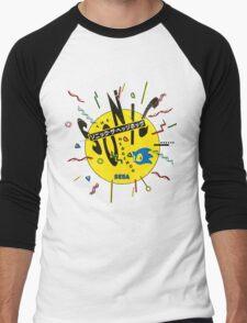 Sonic the Hedgehog - Japanese Box Art Men's Baseball ¾ T-Shirt
