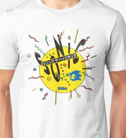 Sonic the Hedgehog - Japanese Box Art Unisex T-Shirt