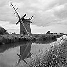 Brograve Windmill by Carole Stevens