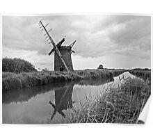 Brograve Windmill Poster