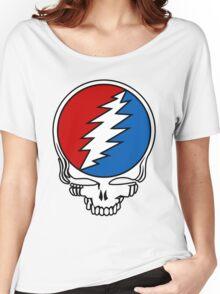 Grateful Dead Logo Women's Relaxed Fit T-Shirt