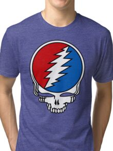 Grateful Dead Logo Tri-blend T-Shirt