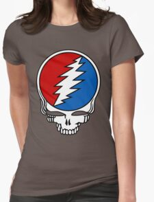 Grateful Dead Logo Womens Fitted T-Shirt