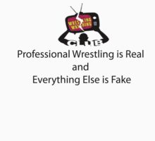 Professional Wrestling is Real by SanFranciscoWWC