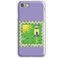 Love and Learn iPhone Case/Skin