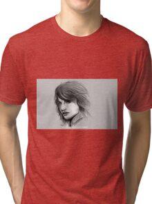 Tricia Helfer, Caprica 6, Battlestar Galatica '04 Tri-blend T-Shirt