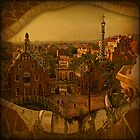Park Güell (Through Dragon eye) by egold