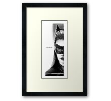 Anne Hathaway, Selina Kyle - The Dark Knight Rises. Framed Print