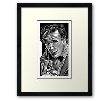 Matt Smith, DOCTOR WHO XI Framed Print