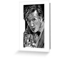 Matt Smith, DOCTOR WHO XI Greeting Card