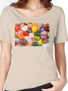 Cool colorful sweet Jelly Beans Women's Relaxed Fit T-Shirt