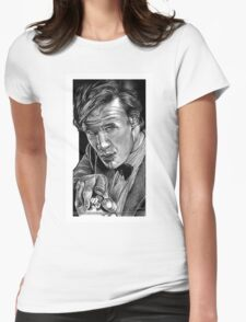 Matt Smith, DOCTOR WHO XI Womens Fitted T-Shirt