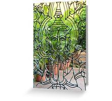 tranquil buddha Greeting Card
