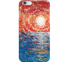 anacapa island glare iPhone Case/Skin