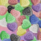 Candy Hearts by Chere Lei