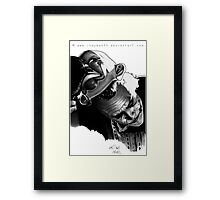 The Man Who Laughs Framed Print
