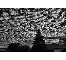 Sky Over Home Photographic Print