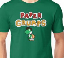 Paper Grumps Kevin with Title Unisex T-Shirt
