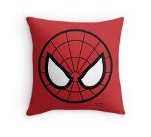 Hero Circles - Spidey Throw Pillow