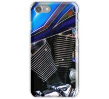 BLUE Motorcycle Shot 2010 iPhone Case/Skin